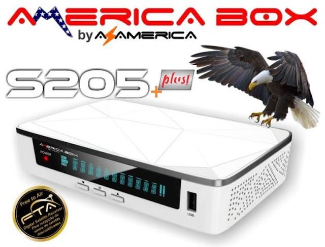 Americabox S205 + Plus (H1.63) Atualização V1.55 - 07/04/2021