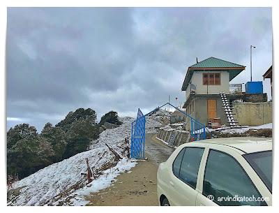 Entrance Hatu Peak