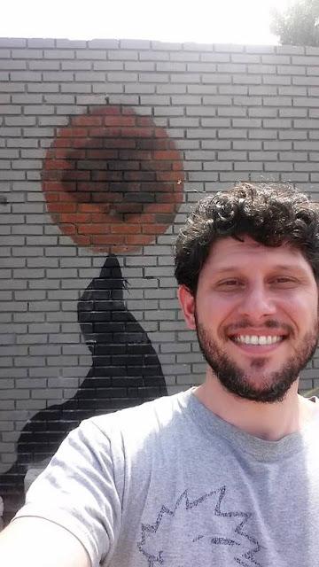Moving Banksy Mural in New York