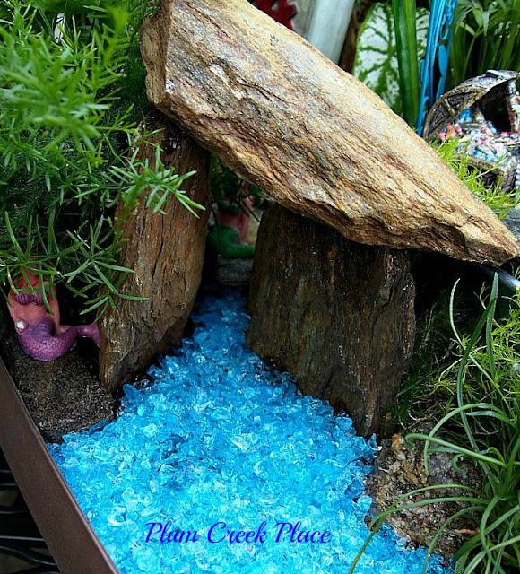 Fairy Garden,  Raised container Gardening,