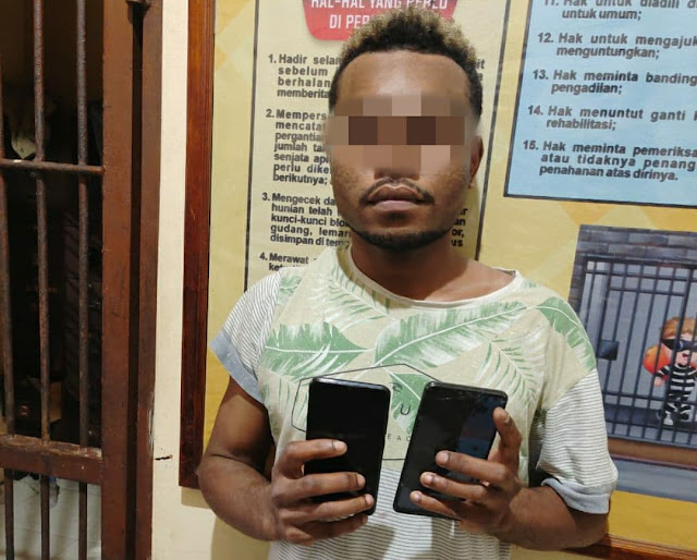 Curi Ponsel Seorang IRT, Pelajar ini Dibekuk Polisi di Aryoko