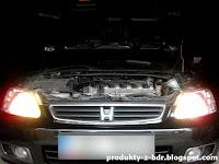 Zestaw 2 żarówek samochodowych z Biedronki