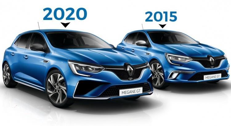 Diario Automotor: Renault Mégane restylizado (2020) con ...