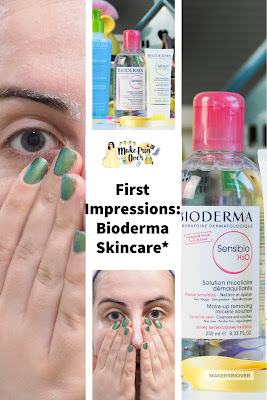 First Impressions: Bioderma Skincare* Micellar Sebium Range, Review, Honest