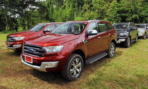 Spesifikasi dan Harga All-new Ford Everest 2015 Indonesia