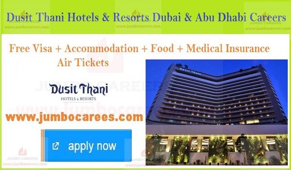 Star hotel job vacancies in UAE, Gulf hotel jobs with salary and benefits,
