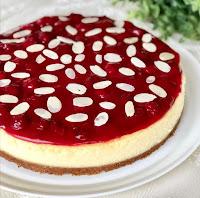 cheese cake aux fraises très facile