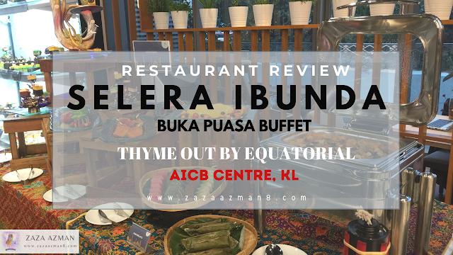 SELERA IBUNDA THYME OUT CAFE by EQUATORIAL