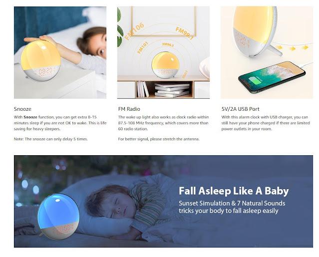 Sunrise Alarm Clock APP IPHONE
