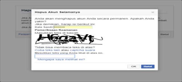 Hapus Akun Facebook Selamanya