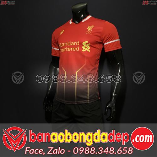 Áo Liverpool Màu Đen 2020 Training 15