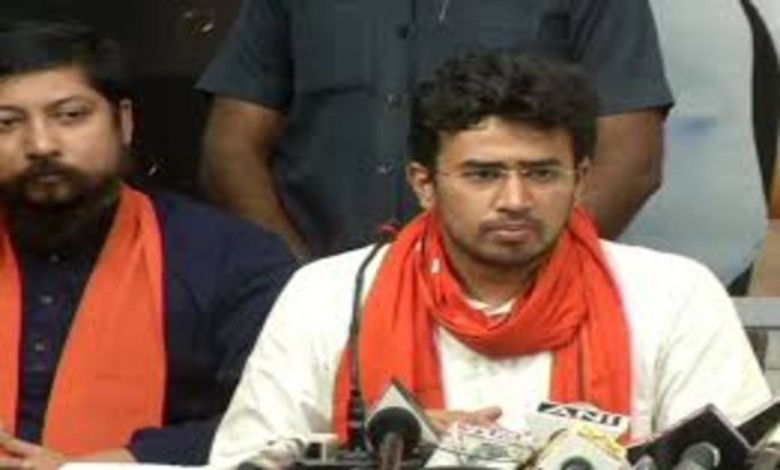 There is no other corrupt government like Bengal: Tejasvi Surya!