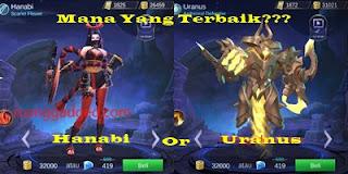 Antara Hero Baru Hanabi dan Uranus, Mana Yang Terbaik?