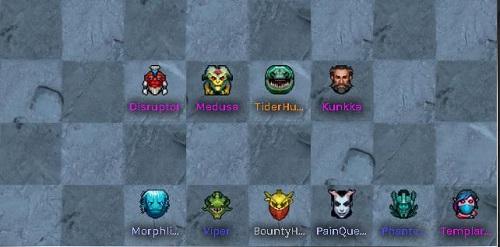 Một trong những cách thức build đội nhóm 6 Assassin về cuối trận