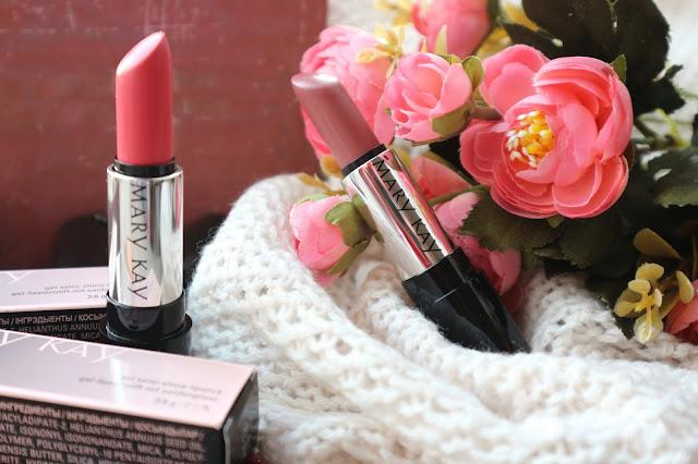 """Мэри Кей Сияющие гелевые губные помады """"Розовое дерево"""" и """"Розовый зефир"""""""