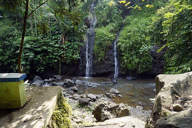 Area yang digunakan wisatawan bermain air