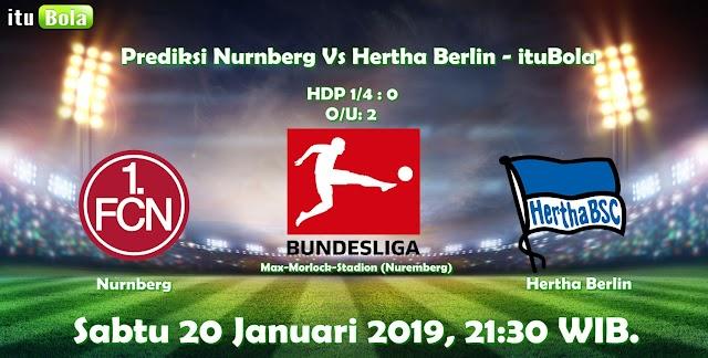 Prediksi Nurnberg Vs Hertha Berlin - ituBola