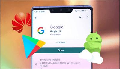كيفية تثبيت متجر جوجل بلاي على هواتف شركة Huawei وتفعيل خدمات جوجل