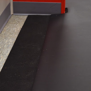 Greatmatas Plyometric Rubber Flooring under Adagio Marley Dance Floor