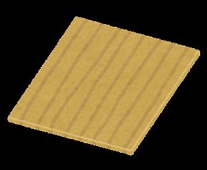 木の板のイラスト