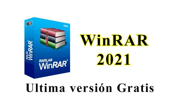 WinRAR última versión 2021