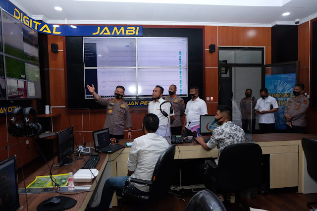 Lima Lagi CCTV 'Asap Digital' Dipasang Antisipasi Karhutla di Jambi