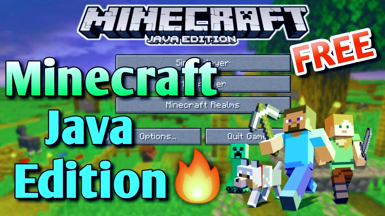 How to Download Minecraft Java edition for free ( for Pc