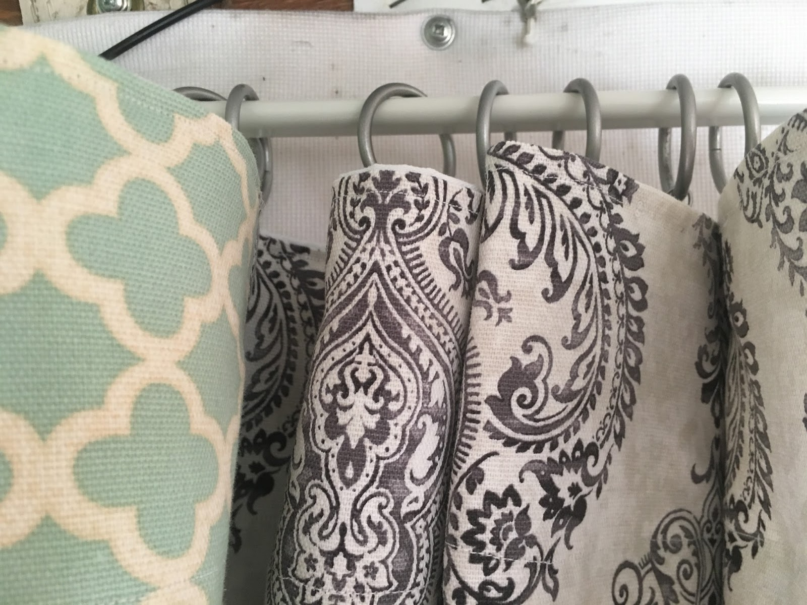 The Southern Glamper: Pop Up Camper Curtains - Part Two
