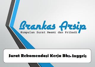 logo postingan contoh surat rekomendasi kerja dalam bahasa Inggris