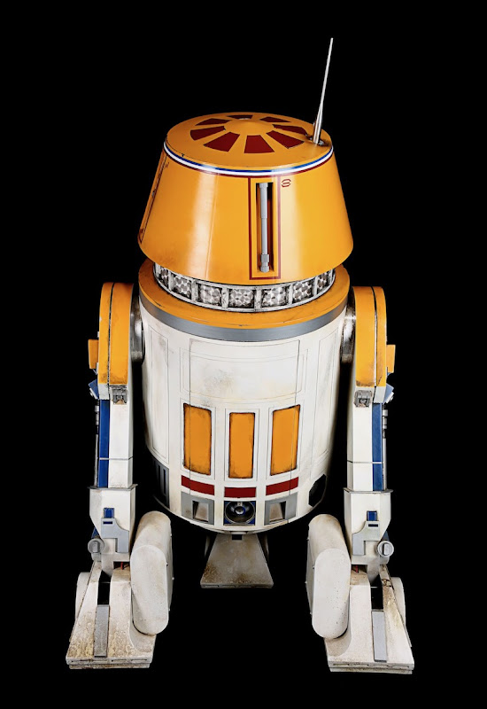Star Wars Rise of Skywalker R5 Droid back