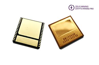 Antminer BM1396AB chip