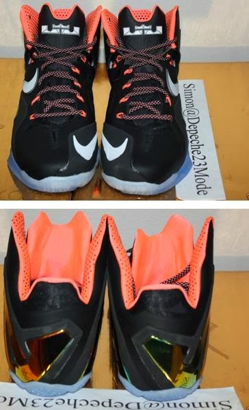 THE SNEAKER ADDICT: Nike LeBron 11 Elite Mango Sneaker ...