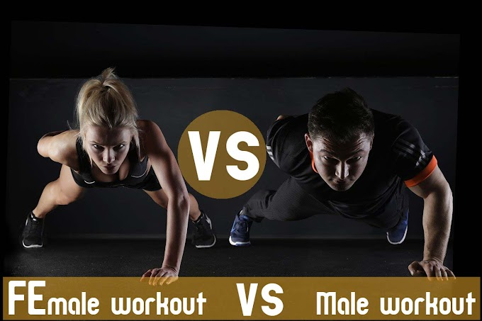 Difference between male and female workout routine