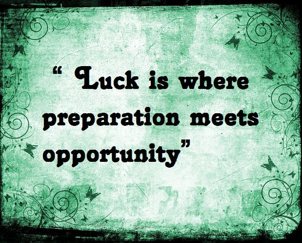 Luck Phrases Sayings