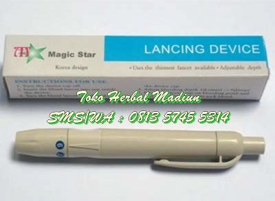 Lancing Device Medical Plastik Magic Star