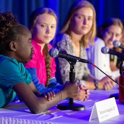 Fora do roteiro, Greta Thunberg não sabe responder perguntas básicas