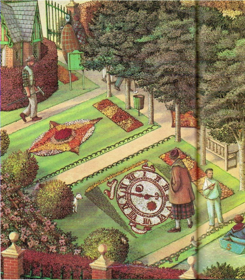 Pictures From An Old Book Through The Garden Gate By Susan Hill