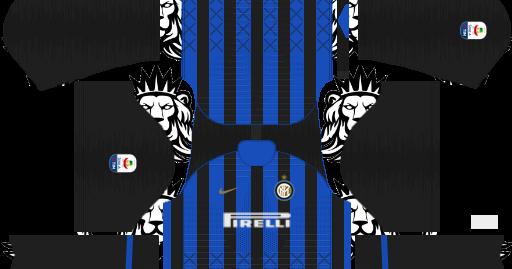 8e0168dd9e9 Inter Milan Fc Kits 2019 20 in Italian league For Dream League Soccer Kits  - KITS FTS