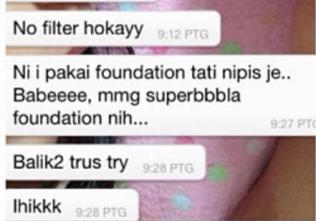 testimoni tati foundation