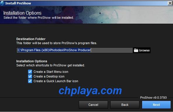 Hướng dẫn Cài đặt Proshow Producer 9.0.3797 Full mới nhất 4