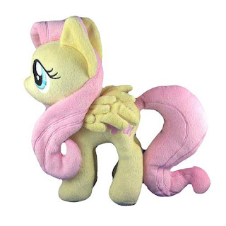 4th Dimension Entertainment Fluttershy Plush