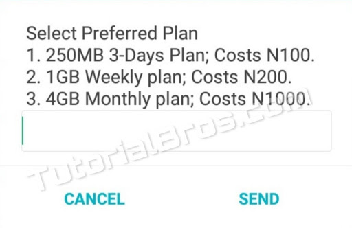 How to activate MTN 4GB for N1000, 1GB for N200  And 250MB for N100