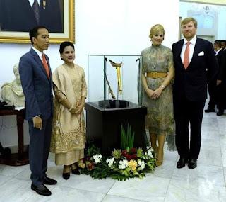 Keris Pangeran Diponegoro Dikembalikan ke Indonesia