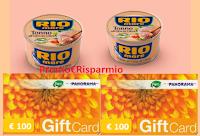 Logo Concorso '' Vinci con Rio Mare'' : in palio Gift Card Pam Panorama da 100€! Anticipazione.
