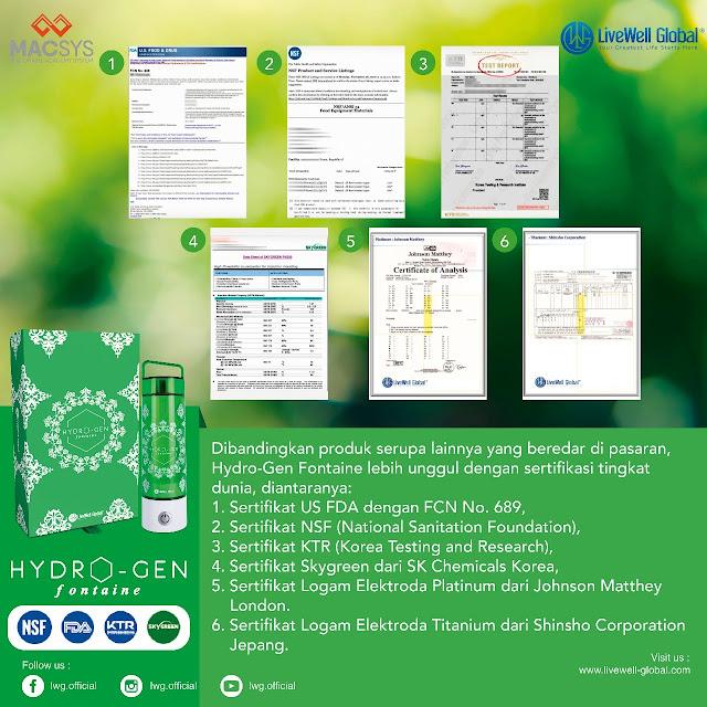 Minum air hidrogen saat puasa