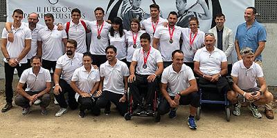Piragüismo Aranjuez Juegos Inclusivos Madrid