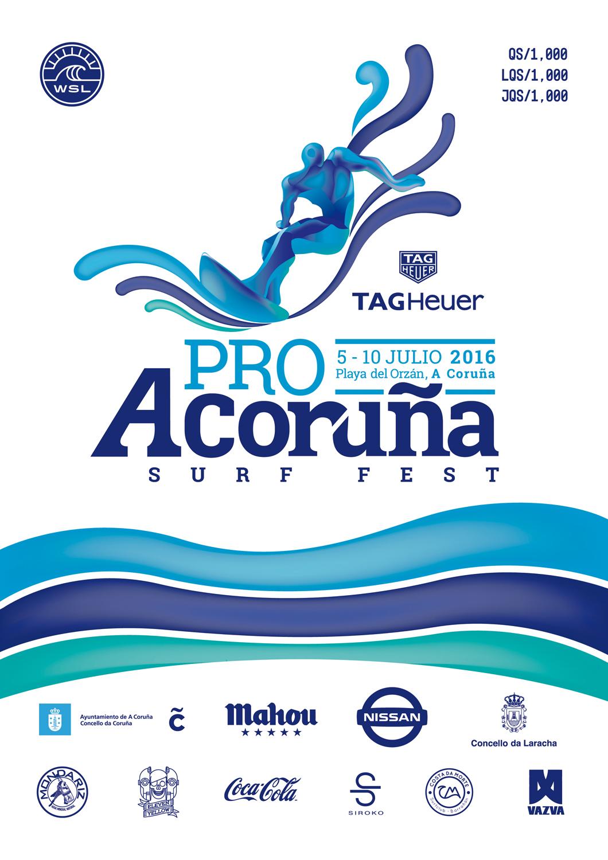 A CorunaPro poster