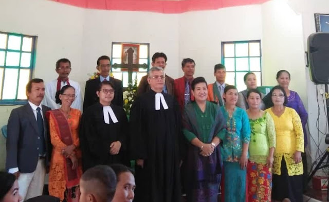 Setelah 27 tahun, Sekjen HKBP Pdt.David Farel Sibuea Kembali Melayani HKBP Sibodiala