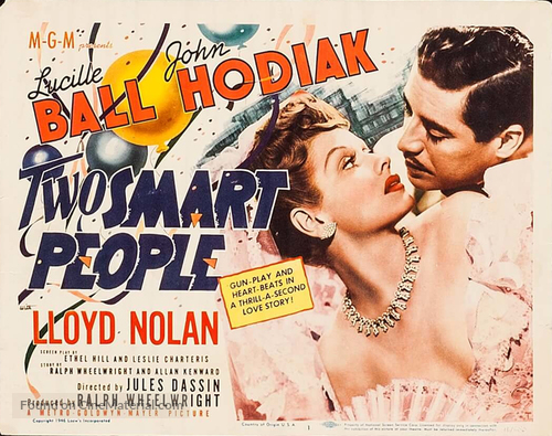 Two Smart People (1946) movie poster