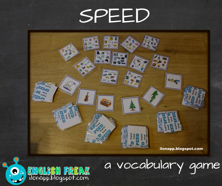 Speed dating vocabulary game